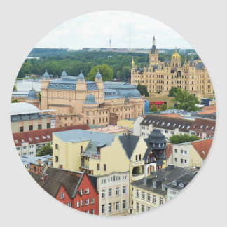 Schwerin, Germany Classic Round Sticker