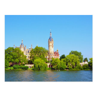 Schwerin Palace, Germany Postcard