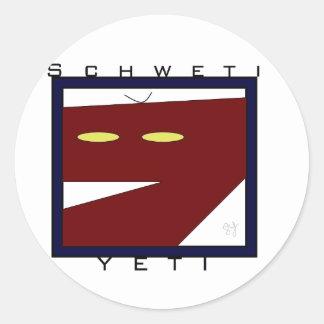 Schweti Yeti Window Sticker