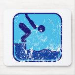 Schwimmen Mousepads