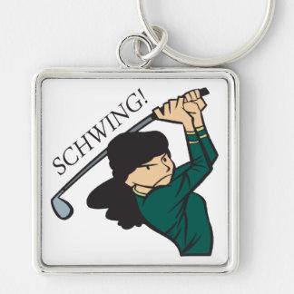 Schwing Keychain