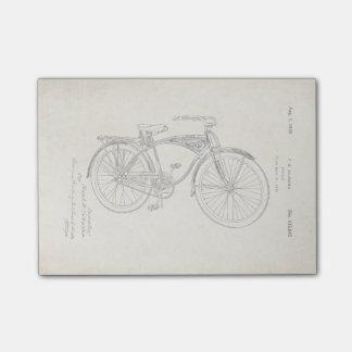 Schwinn Bicycle Patent Post-It Notes