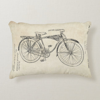 Schwinn Bicycle Throw Pillow Accent Pillow