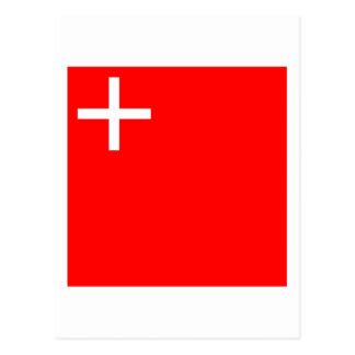 Schwyz Flag Post Card