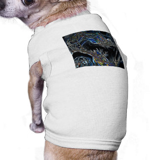 Sci-Fi Abstract Dog T-shirt