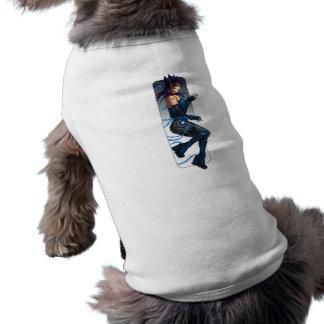 Sci-Fi Anime Girl Pet Shirt