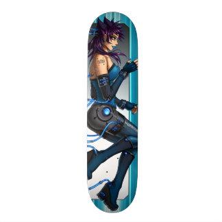 Sci-Fi Anime Girl Skateboard