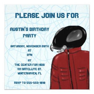 Sci-Fi Antman Kids Customizable Party Invitation