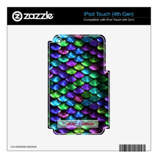 Sci-Fi Armor 1&2 MP3 Player Skin Options iPod Touch 4G Skins