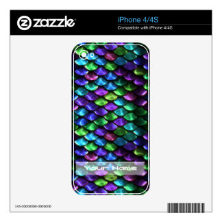 Sci-Fi Armor 1&2  Phone Skin Options Skins For The iPhone 4