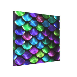 Sci-Fi Armor 2A Wrapped Canvas