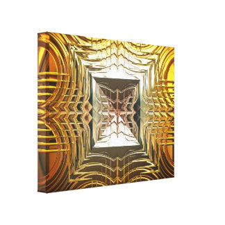 Sci-Fi Art 1 Wrapped Canvas