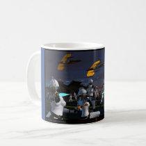 sci-fi art mug