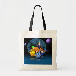 Sci-Fi Bears Bags