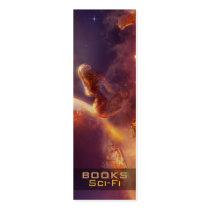sci fi, digital, landscape, space, planet, scenery, universe, art, artwork, illustration, motivational, library, houk, super, bookmark, super bookmark, reading, powers, read, books, literature, knowledge, learn, confidence, excellence, school, back to school, sweet gifts, teach, gifts for teachers, bookmarks, librarian, gifts, stocking stuffers, profile cards, Business Card with custom graphic design