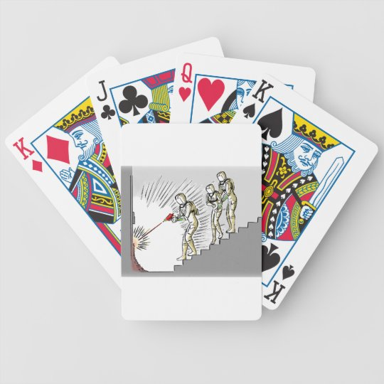 Sci-Fi Break In Bicycle Playing Cards
