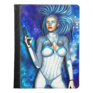 Sci Fi Chick iPad Case