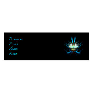 Sci-Fi Creature Profile Card Double-Sided Mini Business Cards (Pack Of 20)