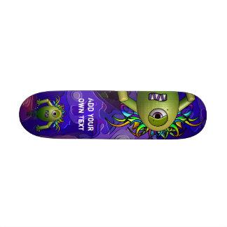 Sci-Fi Cyclops Skateboard