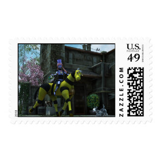 Sci-Fi Easter Postage Stamp