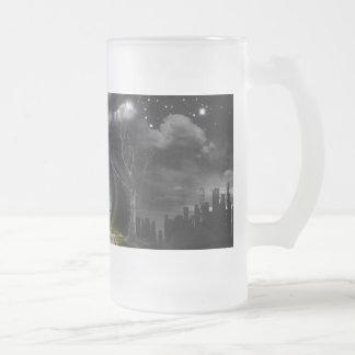 Sci-Fi Eye 16 Oz Frosted Glass Beer Mug