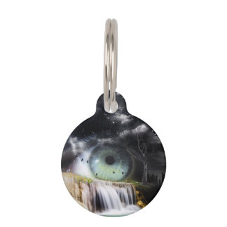 Sci-Fi Eye Pet Tags