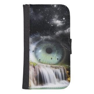 Sci-Fi Eye Galaxy S4 Wallet