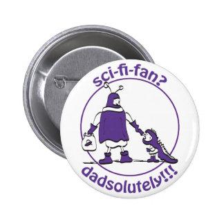 Sci-Fi-Fan Dad Button