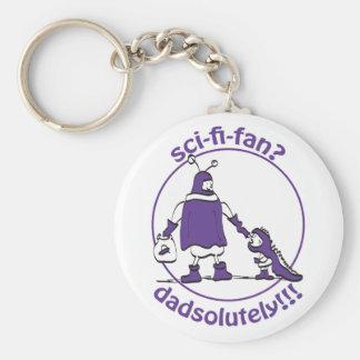 Sci-Fi-Fan Dad Keychain