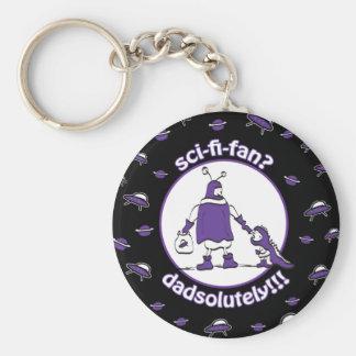 Sci-Fi-Fan Dad Key Chain