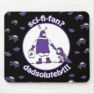 Sci-Fi-Fan Dad Mouse Pad