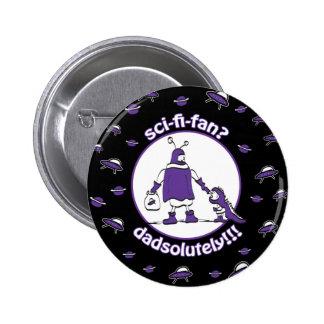 Sci-Fi-Fan Dad Pinback Button