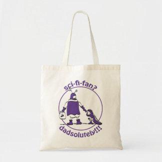 Sci-Fi-Fan Dad Tote Bag