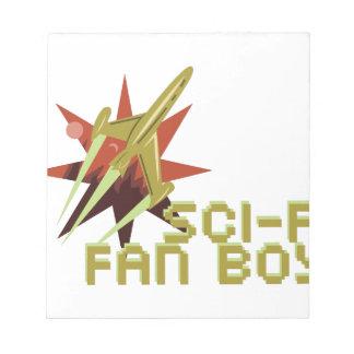 Sci-Fi Fan Notepad