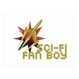 Sci-Fi Fan Postcard