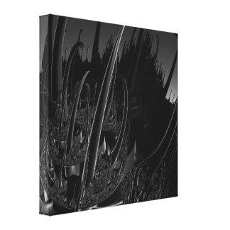 Sci-Fi Fractal Canvas Print