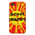 Sci_Fi Freddy iPhone 4 Protectores