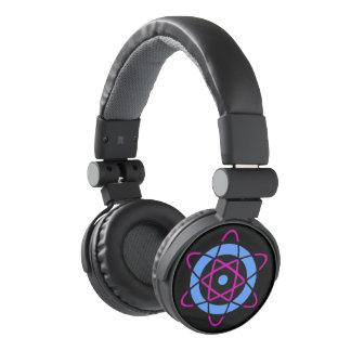Sci Fi Geek Atom Symbol Headphones