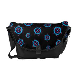 Sci Fi Geek Atom Symbol Messenger Bag