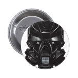 sci-fi geek concept art helmet design 2 inch round button