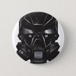 sci-fi geek concept art helmet design pinback button