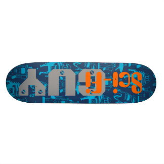 Sci-Fi Guy Skateboard