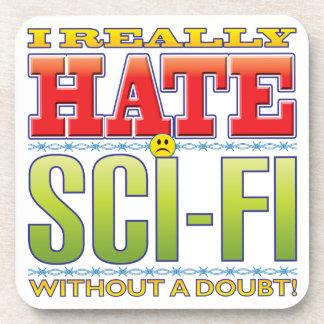 Sci-Fi Hate Face Beverage Coasters