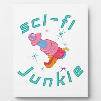 Sci-Fi Junkie Plaque