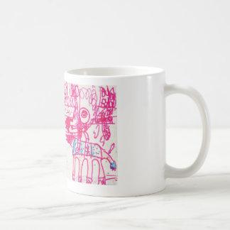 Sci-fi Kids Illustration Coffee Mug