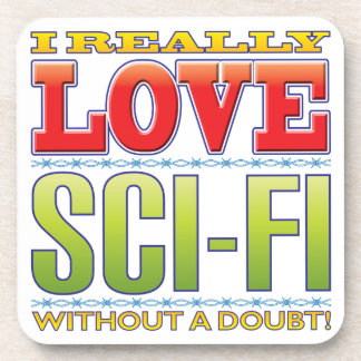 Sci-Fi Love Coasters