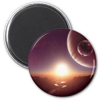 Sci-fi Fridge Magnet