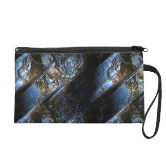 Sci-Fi Metal Art 2-1 Wristlets Bag