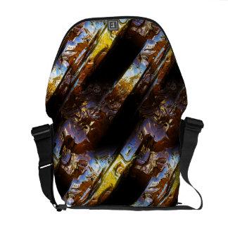 Sci-Fi Metal Art 2-3 Messenger Bag