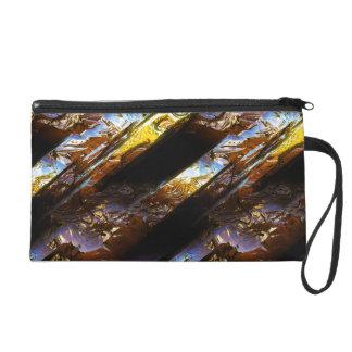 Sci-Fi Metal Art 2-3 Wristlets Bag